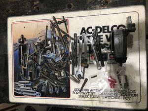 Wrenches, sockets, files, drill bits, nut drivers, tow strap for Sale in Alta Loma, CA