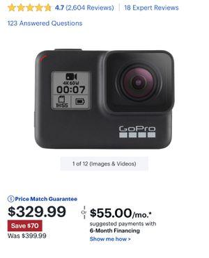 GoPro Hero 7 Black NEW for Sale in Murfreesboro, TN