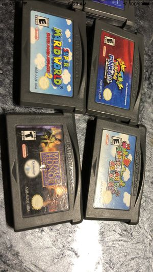 Nintendo GameBoy Advance Game lot. for Sale in Woodbury, PA