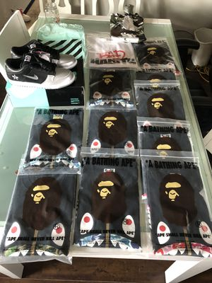 Rare Bape Tee Milo in Big Shark Face for Sale in Arcadia, CA