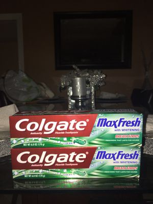Colgate toothpaste * No holds no delivery for Sale in Fresno, CA