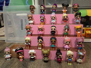 Lol surprise rolls 27 dolls for Sale in Rosemead, CA