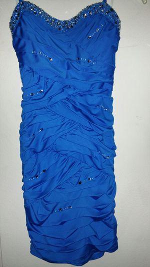 Dress color blue size S for Sale in El Cajon, CA