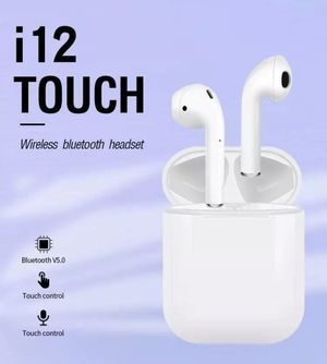 Apple AirPods TWS i12 wireless Bluetooth headphones for Sale in Fullerton, CA