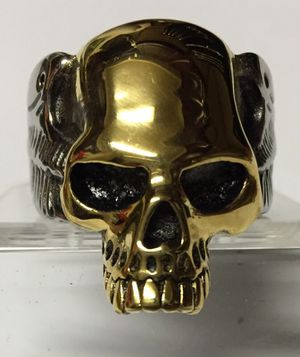 Scull biker ring. Stainless steel. for Sale in Denver, CO