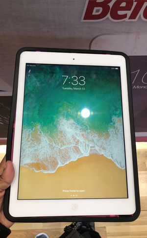 iPad Air with Cellar LTE for Sale in Laurel, MD