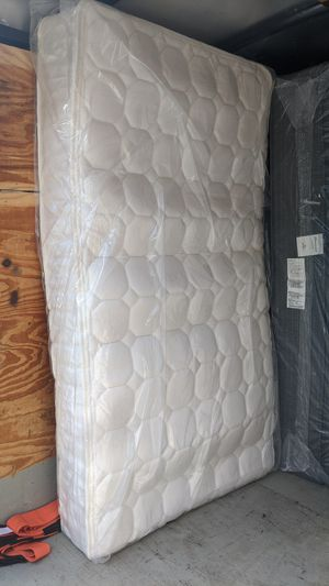 Twin size inner spring mattress $85. for Sale in Citrus Heights, CA