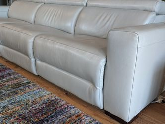 Leather Sofa Sectional With Recliners for Sale in Portland,  OR