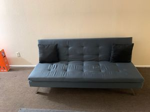 Clean gray futon for Sale in Phoenix, AZ