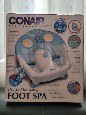 Deluxe CONAIR Body Benefits unopened box for Sale in Fontana, CA