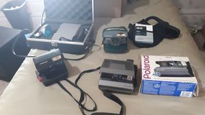 Lot of 4 Polaroid instant cameras for Sale in Greensburg, PA