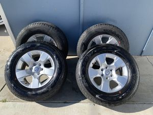 "Ram 1500 18"" Rims and Tires - 641 miles on them for Sale in San Diego, CA"
