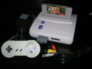 Super Nintendo Mini System Console with 1 chip video game Donkey Kong Country SNES for Sale in Lake Wales, FL