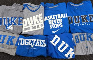Lot of 8 Duke Nike shirts for Sale in Durham, NC