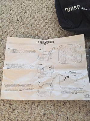 Frost Guard Premium Windshield and Mirror Cover (new in box) for Sale in Columbus, OH