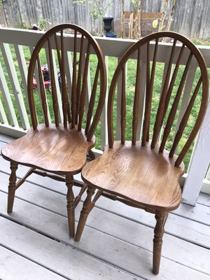 Wooden chairs for Sale in Herndon, VA