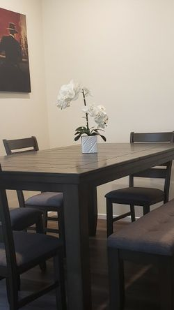 NEVER USED - Just Bought It! Table And Chairs from Living Spaces... Moving ASAP for Sale in Riverside,  CA