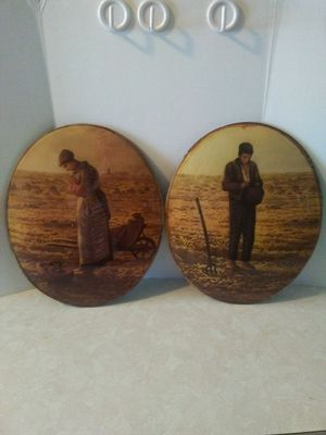 Vintage Domed Glass Picture Set for Sale in Grove City, OH