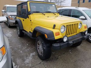 2001 Jeep Wrangler for Sale in Northbrook, IL