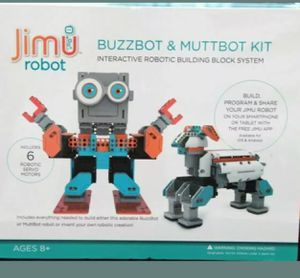 Jimu Interactive Robotic Building System Buzzbot and Muttbot for Sale in Cheyenne, WY