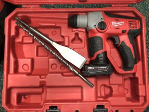 Hammer Drill, Tools-Power Milwaukee HammerDrill W/Battery no Charger for Sale in Baltimore, MD