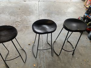 Wooden modern bar stools for Sale in Lakewood, CO