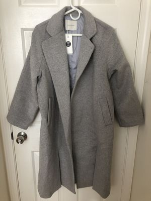 Women Coat Trench Jacket Winter Long Parka Overcoat Loose Outwear Asian Size Small NEW for Sale in South San Francisco, CA
