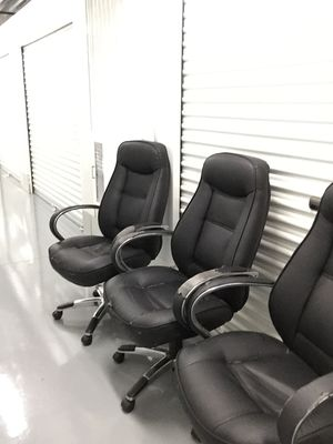 2 Available!!- Bonded leather office chairs $5 each- Read description for Sale in Brandon, FL