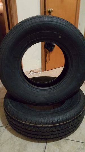 Trailer Tires 225/75/15 for Sale in Dallas, TX