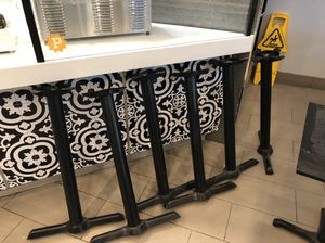 BRAND NEW Counter height restaurant table legs for Sale in Orlando, FL