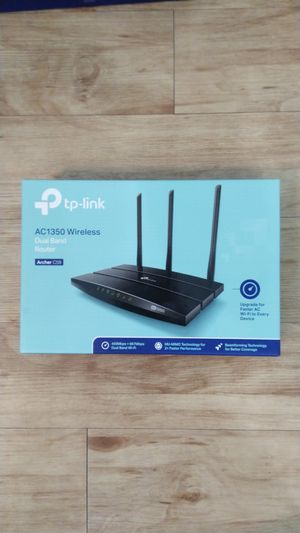 TP-Link AC1350 Wireless Dual Band WiFi Router (Archer C59) for Sale in Plano, TX