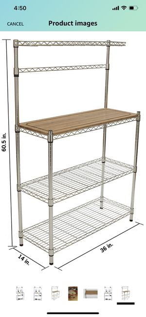 Baker's Kitchen Rack for Sale in Baltimore, MD