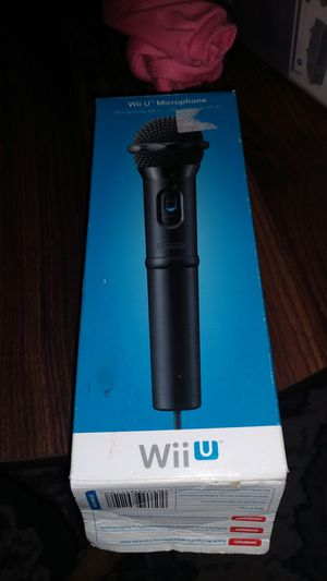 Wii U mic by Nintendo for Sale in Las Vegas, NV