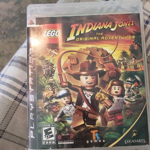 Lego Indiana Jones The Original Adventures For PS3 for Sale in New Lenox, IL