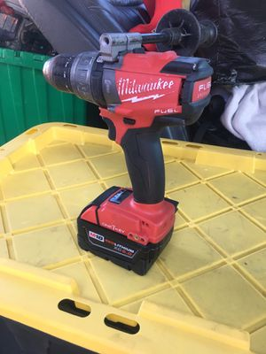 Milwaukee summer drill one key for Sale in San Jose, CA