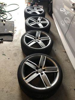Volkswagen wheels Audi rims golf Jetta Passat GLI GTI CC Tiguan Touareg A4 A5 A6 for Sale in Paramount,  CA