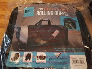 Rolling Duffle Bag for Sale in Galena, OH