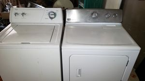 WASHER AND GAS DRYER WORKS GREAT CAN DELIVER for Sale in Lancaster, CA