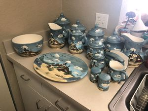 Beautiful Beach/Lighthouse Kitchen Set for Sale in Winter Haven, FL