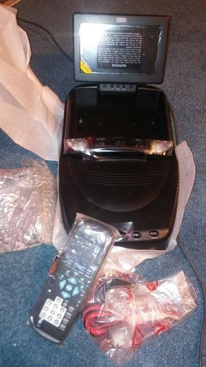 """7"""" lcd overhead monitor with dvd player for Sale in Scottsdale, AZ"""