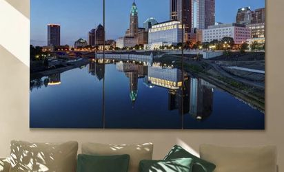 Columbus, Ohio Canvas for Sale in Canal Winchester,  OH