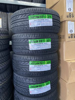 225/40R18 SET OF 4 TIRES ON SALE WE CARRY ALL BRAND for Sale in Lafayette, CA