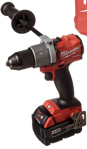 Milwaukee FUEL BRUSHLESS hammer drill with 1 XC 5.0 battery no charger for Sale in Miami, FL