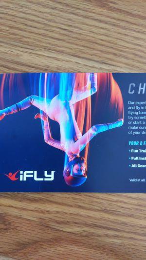 IFly vouchers - $80 each for Sale in Gilbert, AZ