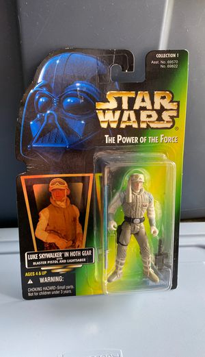 Vintage Kenner Star Wars Action Figure - Luke in Hoth Gear - UNOPENED for Sale in Graham, WA