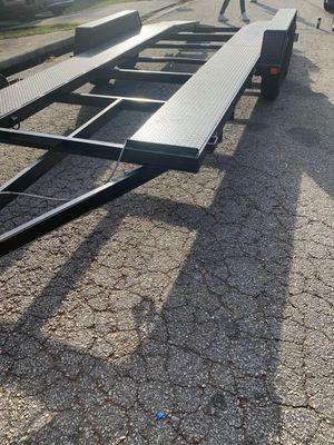 Very nice 20 ft car trailer with ramps for Sale in Lithia Springs, GA