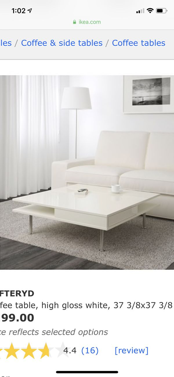 Brilliant On Sale Ikea Toftetyd Coffee Table White For Sale In Pasadena Ca Offerup Uwap Interior Chair Design Uwaporg