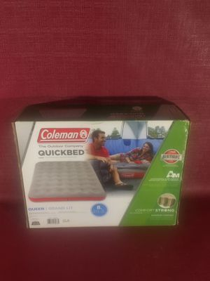 "BRAND NEW NEVER OPENED - COLEMAN ""QUICKBED"" AIR MATTRESS - QUEEN SIZED for Sale in Portland, OR"