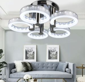 Modern LED Acrylic Chandeliers Flush Mount Ceiling Light Living Room Study Lamp (RB) for Sale in Upland, CA