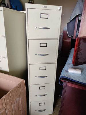 Continental 5 drawer filing cabinets for Sale in Grove City, OH